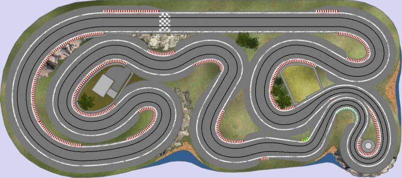 Exemple de tracé rally