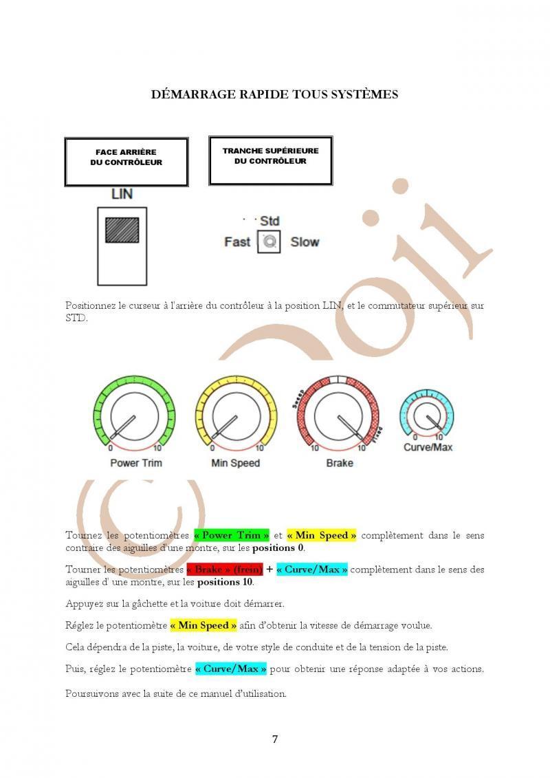 Manuel en français Poignée SLOT IT SCP-2 page 7/23