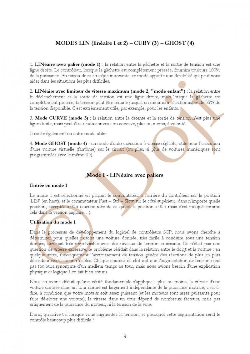 Manuel en français Poignée SLOT IT SCP-2 page 9/23