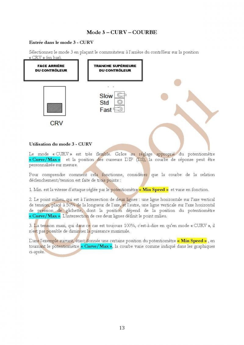 Manuel en français Poignée SLOT IT SCP-2 page 13/23