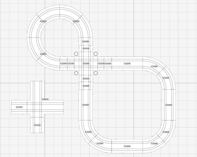 Circuit du coffret basique