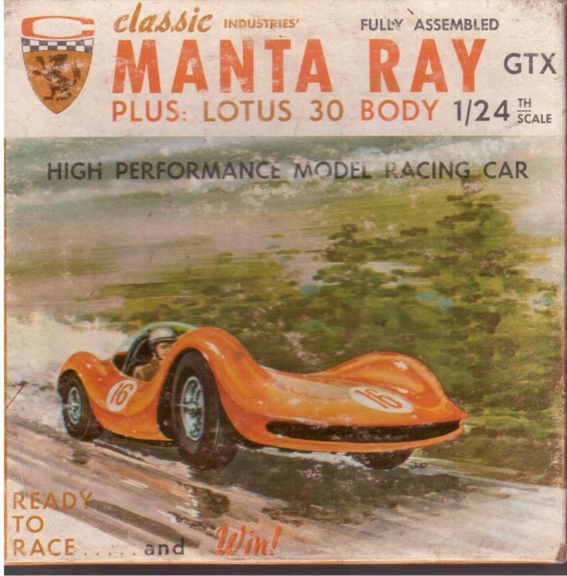 CLASSIC Manta-Ray + Lotus 30