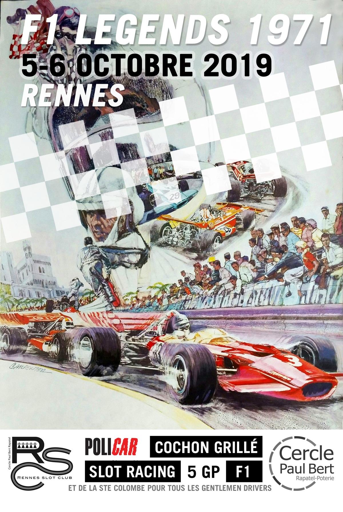 F1 Legend 1971 / 5-6 octobre 2019
