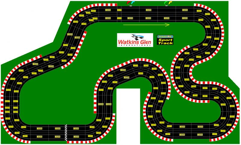 Watkins Glen Race Track >> Circuit typé Nascar (tri-ovale) - FranceSlotforum
