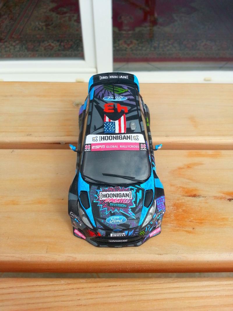 Fiesta Scx Hoonigan Racing Division Rallycross