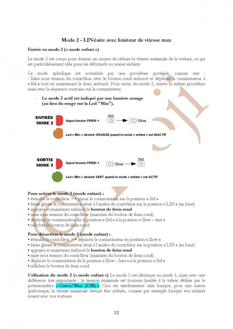 Manuel en français Poignée SLOT IT SCP-2 page 12/23