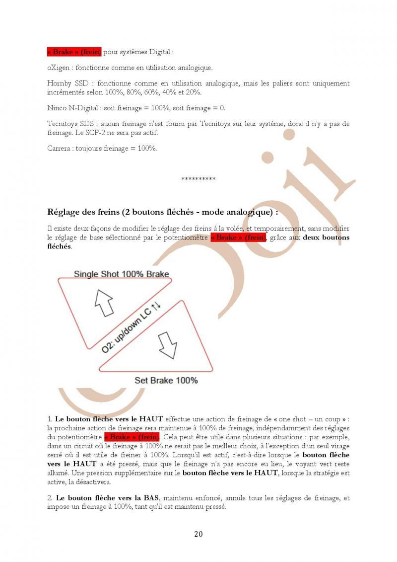 Manuel en français Poignée SLOT IT SCP-2 page 20/23
