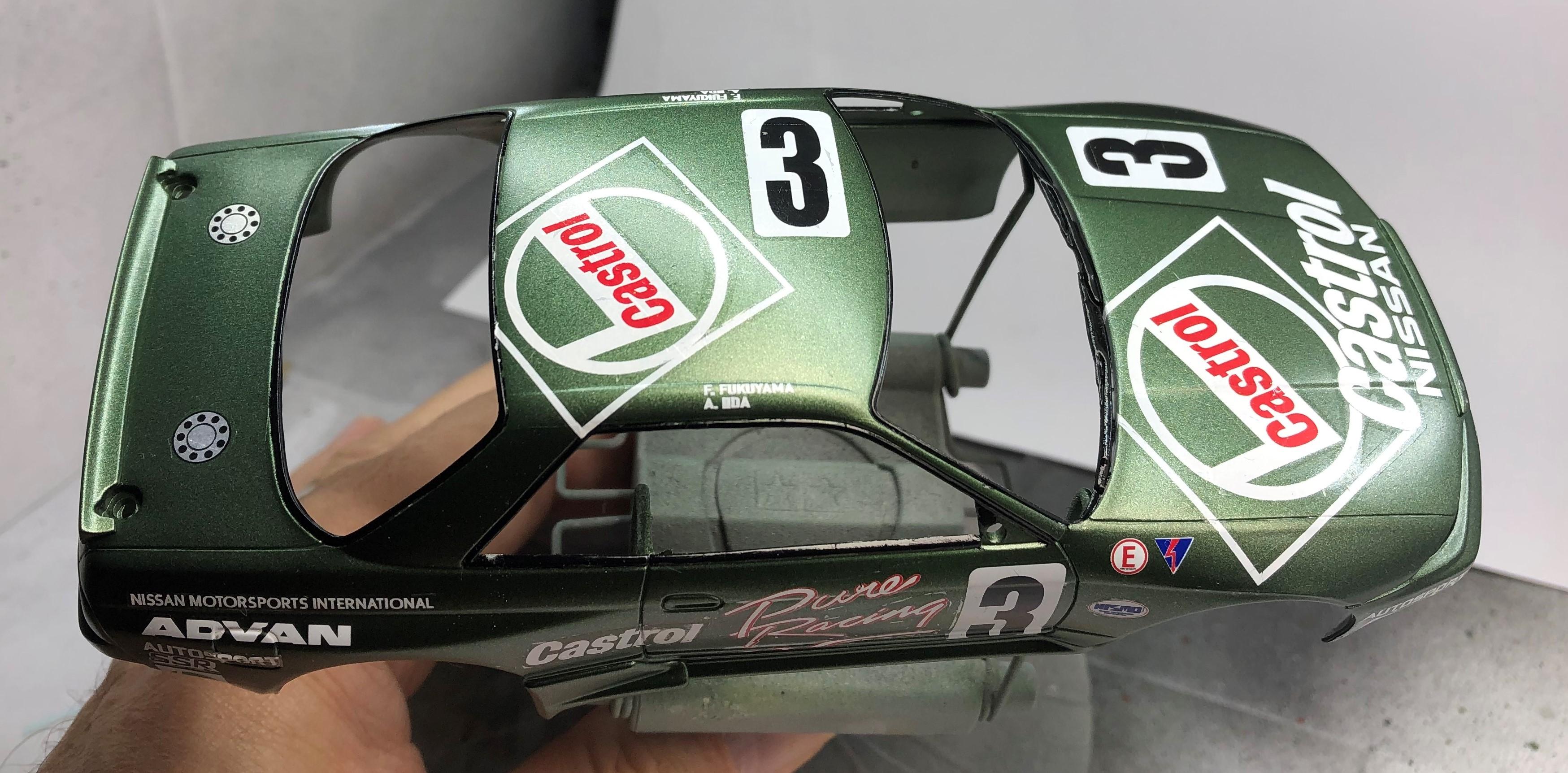 Nissan R32 #3 Castrol JTCC Img-1632155831-506