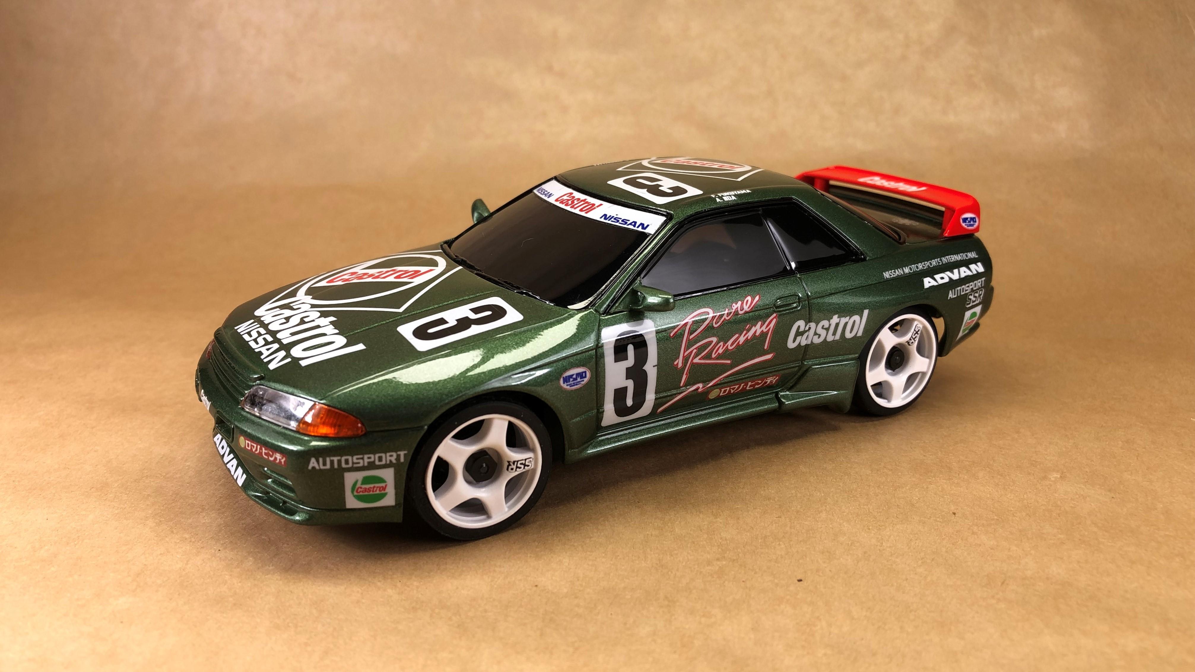 Nissan R32 #3 Castrol JTCC Img-1632385167-35